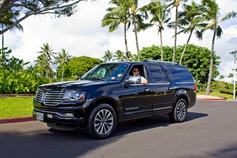 Luxury SUV Transportation on Kauai
