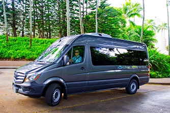 Corporate Luxury Transportation Kauai