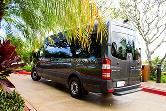 Luxury Sprinter Van Transportation on Kauai